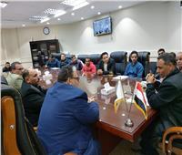 رئيس جهاز مدينة بدر يعقد عدة لقاءات مع سكان المدينة لبحث مقترحاتهم وشكاواهم