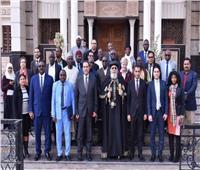 البابا تواضروس يستقبل برنامج الإعلام والتعاون الأفريقي