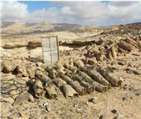إبادة 283 فدان نباتات مخدرة وضبط 20 طن بانجو في جنوب سيناء