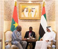 الإمارات وبوركينا فاسو يبحثان الأوضاع في منطقة الشرق الأوسط وأفريقيا