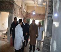 «الهجان» ومساعد وزير الصحة يتفقدان أعمال تطوير 5 مستشفيات بالقليوبية