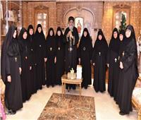 البابا تواضروسيستقبل رئيسات أديرة الراهبات بالقاهرة