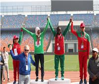 حسين فهمي ونيامبي يتوجان الفائزين في الألعاب الأفريقية للأولمبياد الخاص