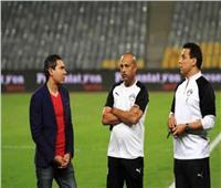 جهاز المنتخب الوطني يحضر مباراة المصري والجونة بالسويس
