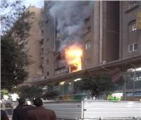 الدفع بـ 3 سيارات إطفاء للسيطرة على حريق بمستشفى خاص في حلوان