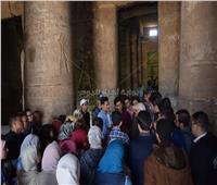 رحلة ترفيهية للطلاب المشاركين بالملتقى الصيدلى الثانيلمعبد أبيدوس