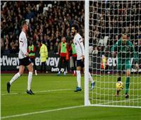 فيديو| نهاية الشوط الأول.. ليفربول يضرب ويست هام بهدف «صلاح»