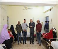 محافظ قنا يتفقد مستشفى نجع حمادي العام و الوقف المركزي
