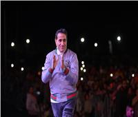 صور| سعد الصغير وشيبة يُشعلان حفل «نادي بروسيا»