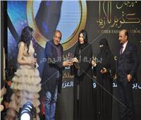 صور| تكريم أحمد بدير وصيام ومنال سلامة بمهرجان «أزياء أكتوبر»