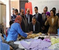 وزير القوى العاملة يتفقد 4 مراكز للتدريب المهني بالإسكندرية