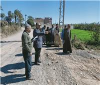 حملة مكبرة لإزالة التعديات على الأراضي الزراعية بأسيوط