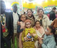 صور| حضور أفريقي مكثف في ضيافة «القومي لثقافة الطفل» بمعرض الكتاب