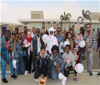 «الشباب والرياضة»: معرض الكتاب يستقبل وفود المبادرات العربية والأفريقية