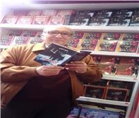 سعيد شيمي يوقع أعماله بمعرض الكتاب