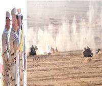 رئيس الأركان يشهد المرحلة الرئيسية لمشروع تكتيكي لوحدات الجيش الثاني