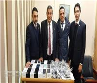 جمارك مطار القاهرة تحبط تهريب «موبايلات» وساعات بـ600 ألف جنيه