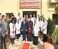 «وزيرة الصناعة» تفتتح أحدث معمل لمتبقيات المبيدات والسموم بمطار القاهرة