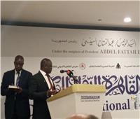 سفير السنغال يوجه الشكر للرئيس السيسي