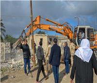 تنفيذ 50 قرار إزالة في حملة ببحيرة مريوط في الإسكندرية
