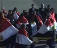 الصور الاولى لعودة 32 صيادًا مصريًا من اليمن
