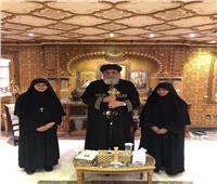 البابا تواضروس يستقبل راهبات دير السيدة العذراء بأستراليا