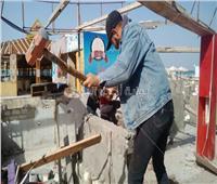 بالصور| إزالة 13 كافيتريا وكشك مخالف بشاطئ النخيل في الإسكندرية