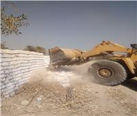 إزالة 23 حالة تعدٍ على أراضي الدولة بمركز فرشوط