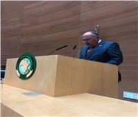 صور| وزير الخارجية يترأس اجتماعات المجلس التنفيذي للاتحاد الإفريقي بأديس أبابا