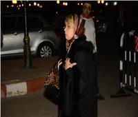 بالفيديو | شهيرة ولميس الحديدي في عزاء الراحلة نادية لطفي