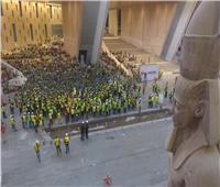 محاضرات وتدريبات عملية عن تدابير السلامة بالمتحف المصري الكبير