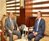 وزير التنمية المحلية ومحافظ الإسكندرية يبحثان الاستفادة من مياه الأمطار