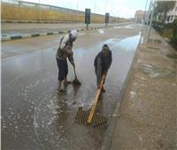 طقس سىء في دمياط.. والأمطار توقف حركة الصيد ببوغاز