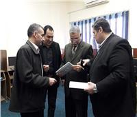 «شوشة» يؤكد على توزيع التابلت والكتب بمدارس سيناء