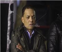 صور| طارق الشيخ يتلقى عزاء والده بالشرابية