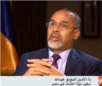 سفير تشاد فى مصر: العلاقات مع مصر في أفضل مستوى خلال عهد السيسي