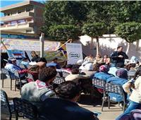 «البيئة» تشارك في فعاليات المهرجان الكشفي الـ ١٣ بمركز شباب صنافير