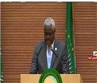 فيديو  مفوضية الاتحاد الأفريقى: الرئيس السيسى قام بعمل عظيم خلال رئاسته