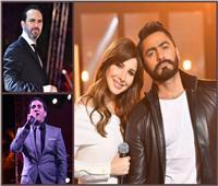 ستاد القاهرة يجمع تامر حسني ونانسي وشيبة وجسار في عيد الحب