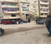 مذبحة حدائق الأهرام| الأم مخنوقة داخل الشقة والأب والطفلة بالمنور