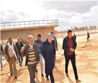 محافظ المنيا يتابع «تجارب التشغيل» لمحطة معالجة الصرف الصحي