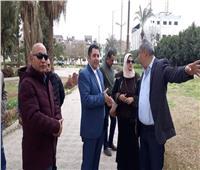 نائب محافظ القاهرة يتفقد حي روض الفرج