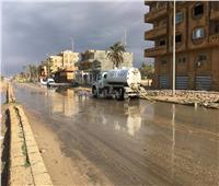 استمرار موجة الطقس السيئ على سيناء