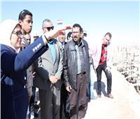 وزيرة الصحة تشيد بمعدلات التنفيذ بوحدتي صحة «العرايشية والزهراء» بجنوب سيناء