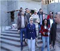 «هالة زايد» توجه بتكثيف الدورات التدريبية للفرق الطبية بمحافظة جنوب سيناء