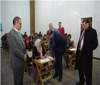 انتهاء امتحانات الفصل الدراسي الأول لبرامج التعليم المدمج بجامعة سوهاج