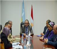 """نائب محافظ الإسكندرية يناقش آليات تنفيذ المبادرة الرئاسية """"اتحضر للأخضر"""""""