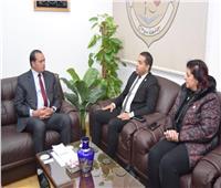 """جامعة سوهاج تبحث مع صندوق تحيا مصر تنفيذ مبادرة """"دكان الفرحة"""""""