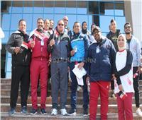 الذهبية لجامعة المنيا في ماراثون العاملين بـ«أسبوع سوهاج»