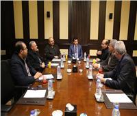 وزير الرياضة ورئيس الأوليمبية يجتمعان مع اللجنة المؤقتة للكرة الطائرة